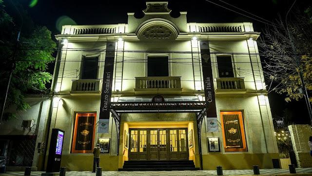 Restauración completa del Teatro Municipal Seminari de Escobar