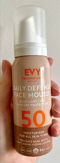 Evy Technology Daily Defense Face Mousse SPF 50