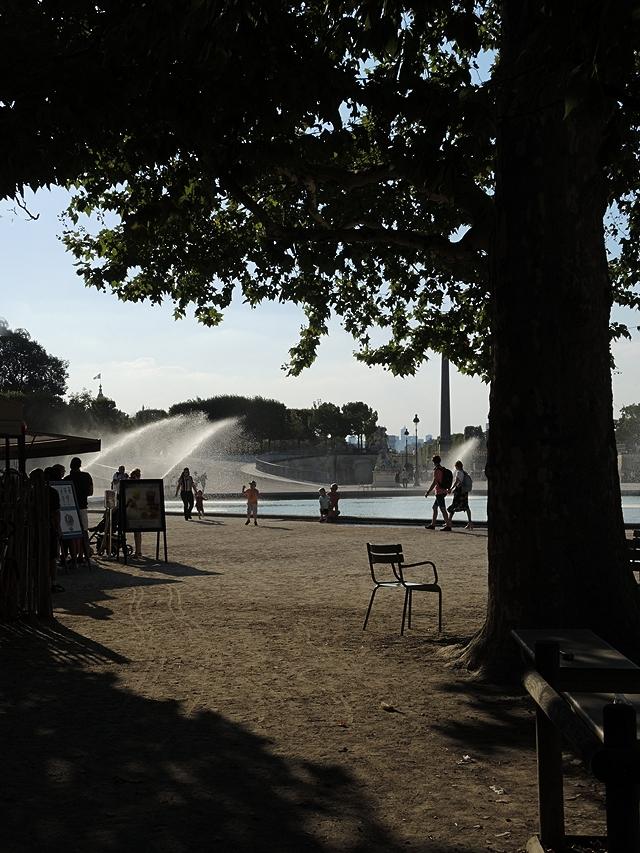 Parijs: zomer en winter in en rond de tuileries