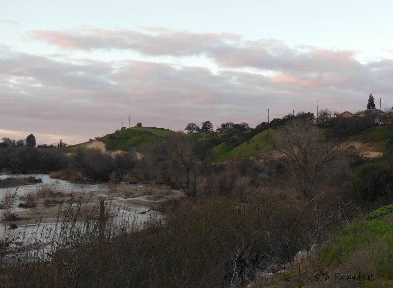 Photos of the Salinas River at Sundown