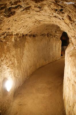 I cunicoli del sottotorrione della Fortezza Firmafede di Sarzana