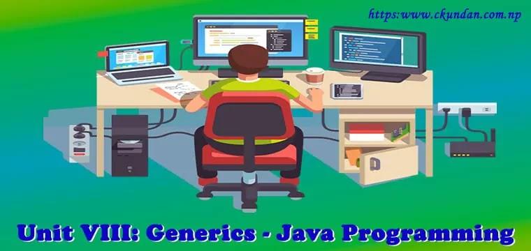 Generics – Java Programming