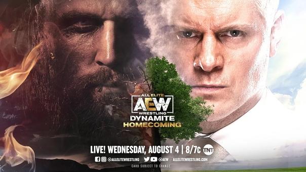 Матч кард специального выпуска AEW Dynamite: Homecoming 2021