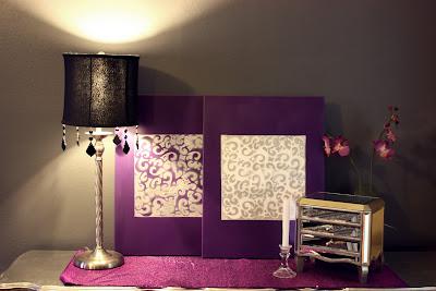 Boiserie c stencil project pi di 40 idee per mobili for Stencil per pareti