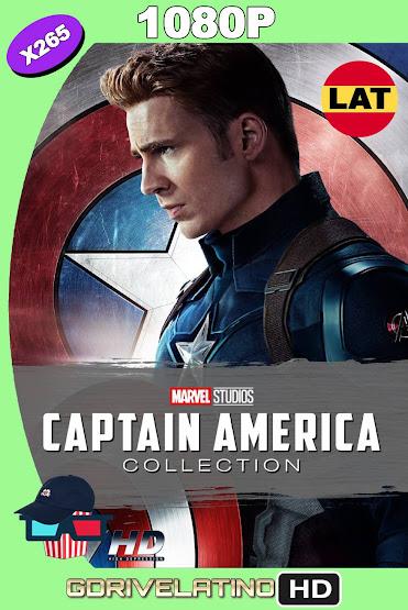 Capitán América Colección (2011-2016) BDRip 1080p x265 Latino-Ingles MKV