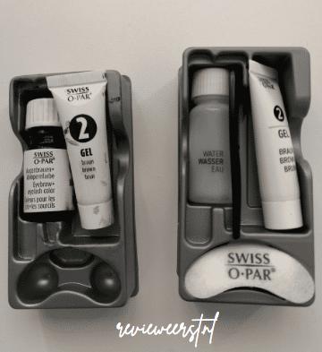 Swiss O-Par wenkbrauwverf