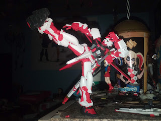Astray Red Frame Flight Unit HG 1/144 KICK by GUTHEM