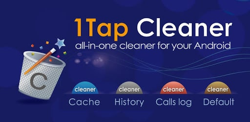 1Tap Cleaner Pro (clear cache, history log) - APK For Android