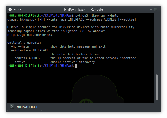 HikPwn – A Simple Scanner For Hikvision Devices