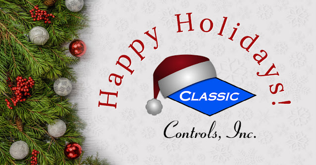 Happy Holidays from Classic Controls