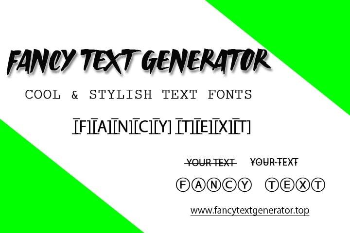 fancy fonts, fancy texts, fancy fonts generator