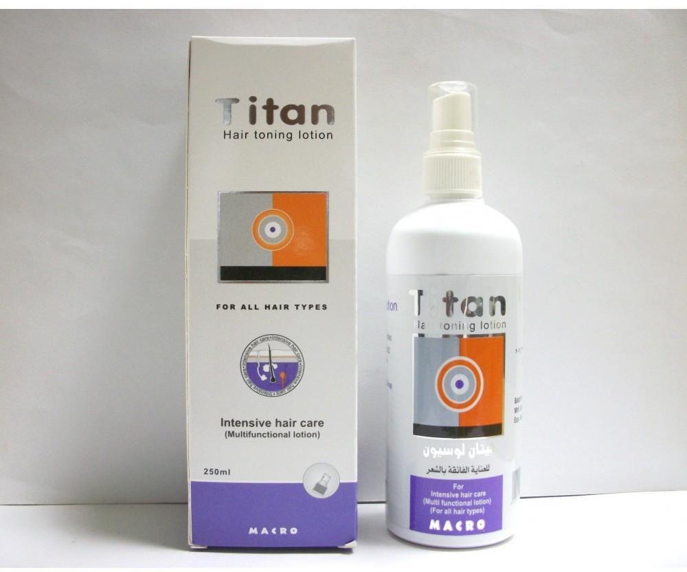 سعر ودواعى إستعمال لوشن تيتان Titan لعلاج تساقط الشعر