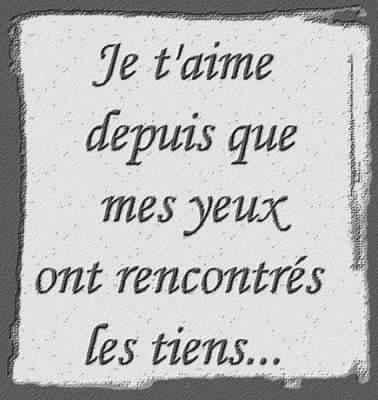 Poème Amour Poésie Et Citations 2019 Sms Damour 2016