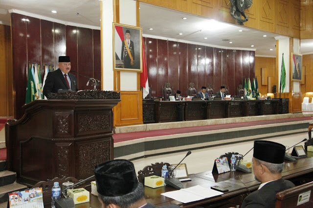 DPRD Provinsi Sumsel Gelar Paripurna Teliti LKPJ 2017 Dan LKPJ Akhir Masa Jabatan Gubernur