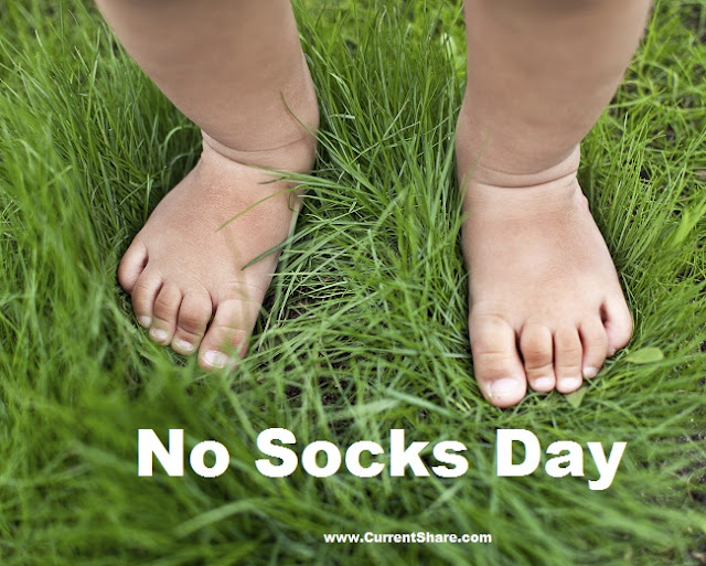 International No Socks Day