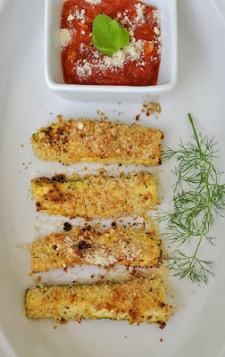 Baked or Air Fried Zucchini Fries