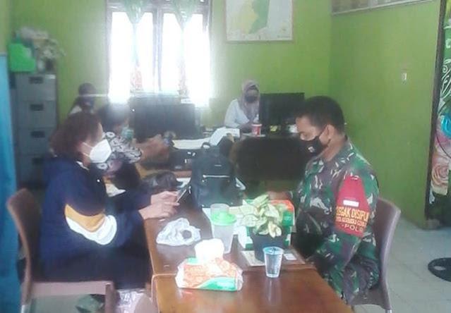 Pul Data Ter Dilaksanakan Personel Jajaran Kodim 0207/Simalungun Di Kantor Desa Binaan