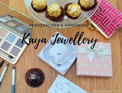 Personalised handmade KAYA jewellery