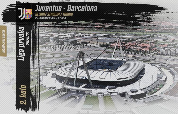 Liga prvaka 2020/21 / 2. kolo / Juventus - Barcelona, srijeda, 21h