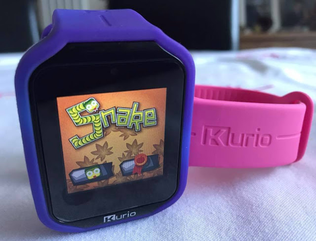 games on the kurio watch 2.0 - snake