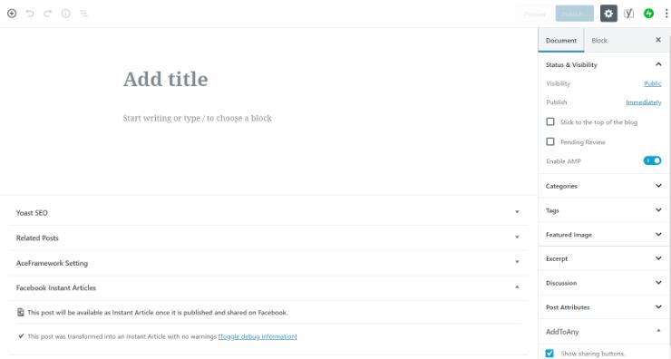 editor blok Gutenberg dirilis