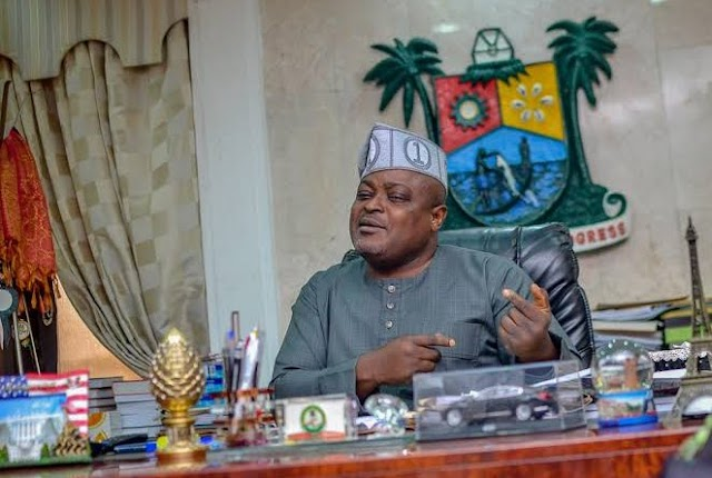 EXPOSED: LAGOS SPEAKER, OBASA, GETS N17M MONTHLY FOR MAINTENANCE OF PERSONAL RESIDENCE, GUEST HOUSE.