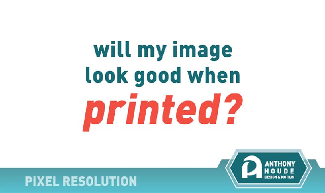 Pixel Resolution For Print #infographic