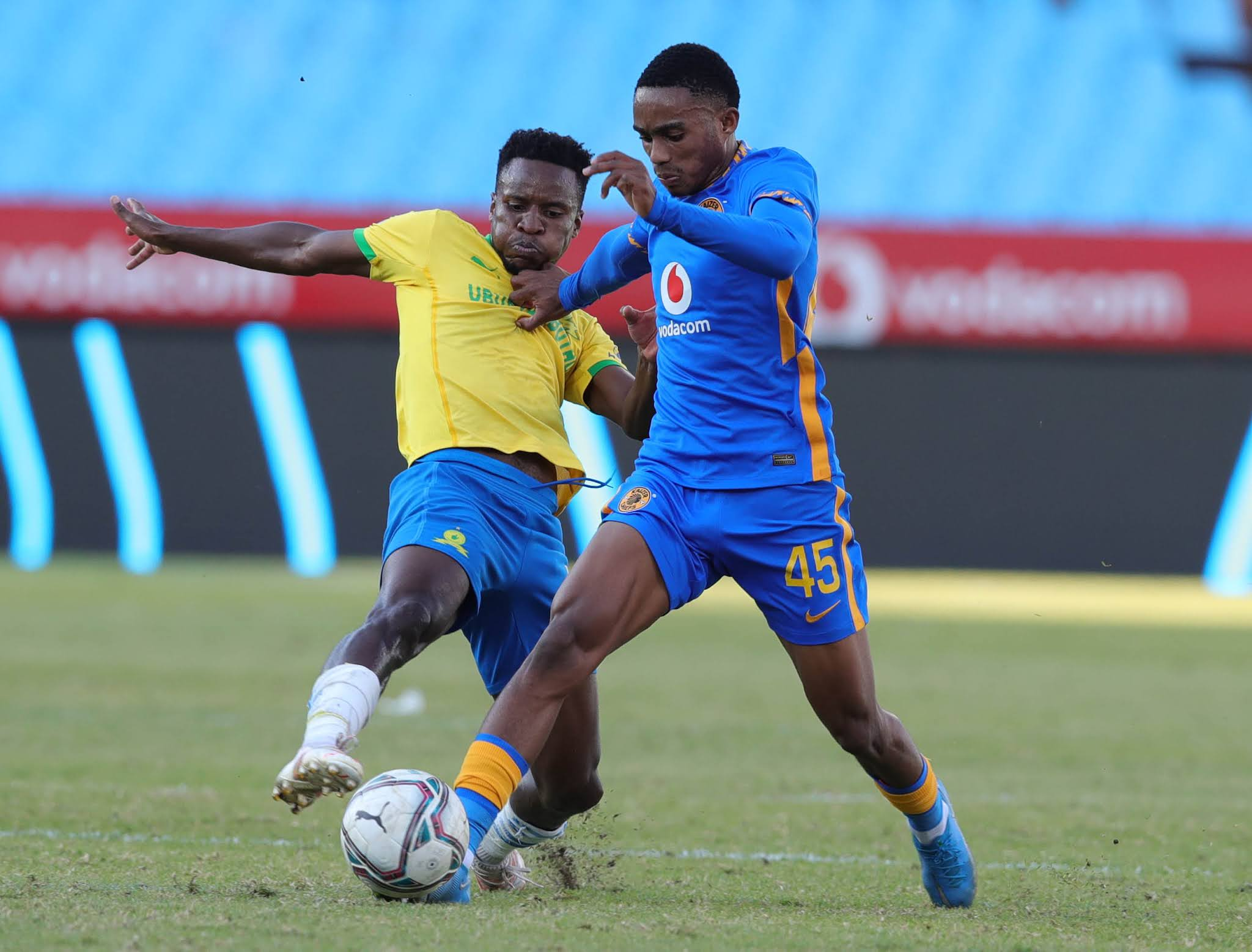 Themba Zwane and Njabulo Blom