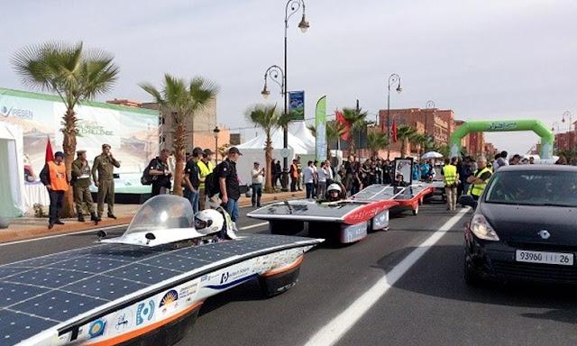 Eco Solar Breizh, remporte la première course de voitures solaires en Afrique à Benguerir- MAP