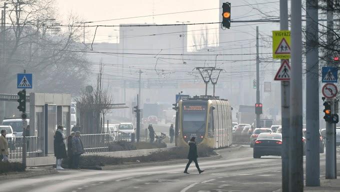 Már tíz településen veszélyes a levegő minősége