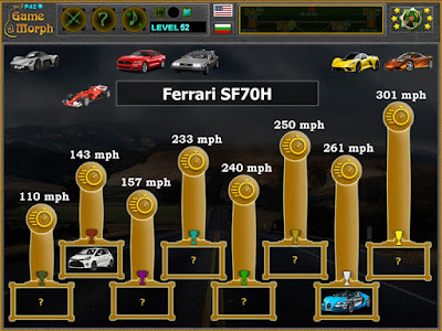 Fastest Cars Puzzle
