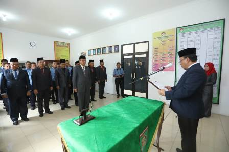 Bupati Asahan Lantik Dewan pengawas PDAM Tirta Silau Piasa Kabupaten Asahan