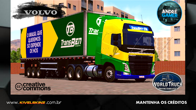 VOLVO FH16 750 - TRANSBEN TRANSPORTES (PATRIOTA)