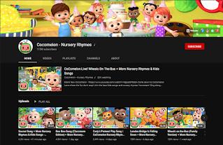 Cocomelon - Nursery Rhymes youtube channel