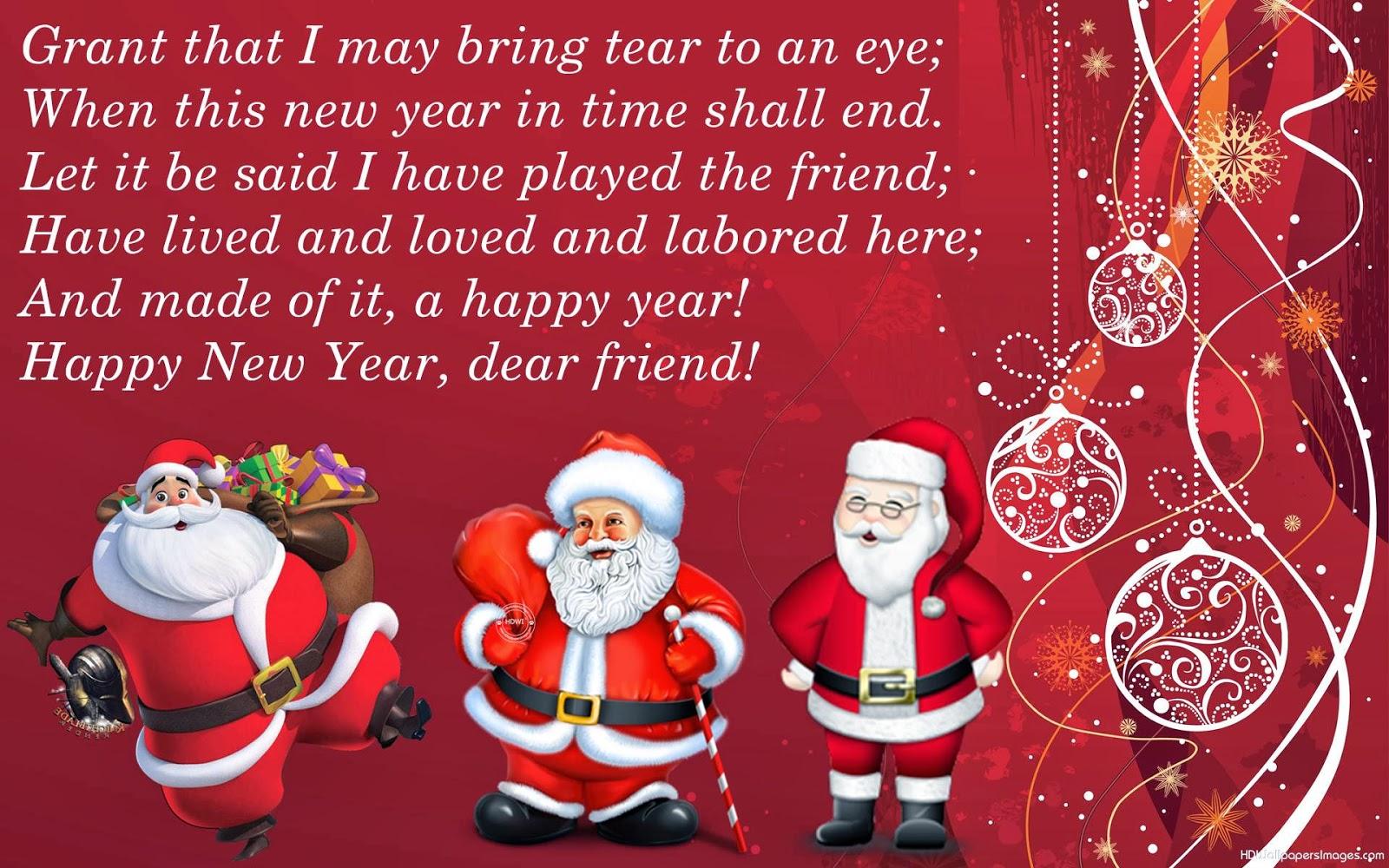 Santa Claus Christmas Scraps Messages Cards Festival Chaska