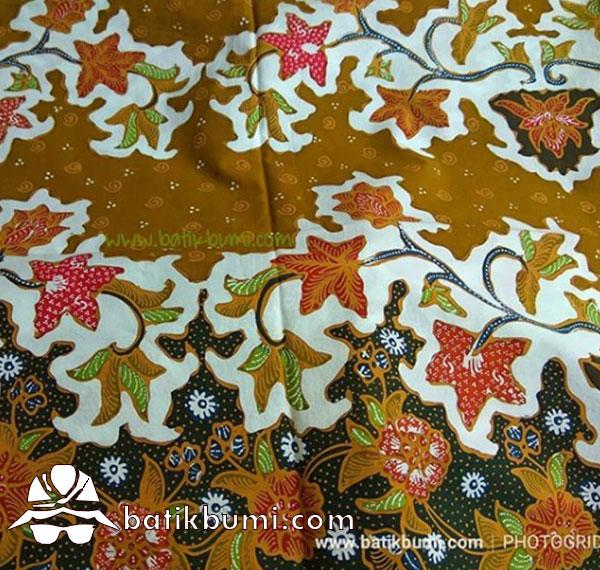 Kain Batik Tulis Motif  Buket