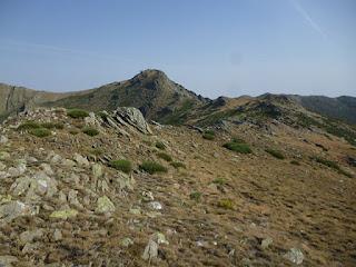 Pico del Lobo desde la Cuerda de las Mesas