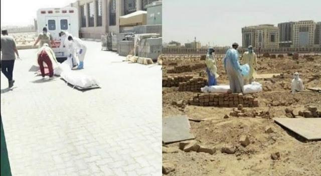 Di Tanah Suci, Jenazah Pasien Corona Dikuburkan di Tempat Paling Mulia Bersama Para Syuhada', Keluarga dan Sahabat Nabi