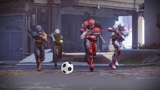 Destiny 2 - Futebol dentro do ambiente social