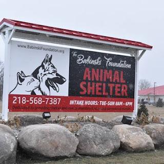 Babinski Foundation Animal Shelter Pequot Lake MN