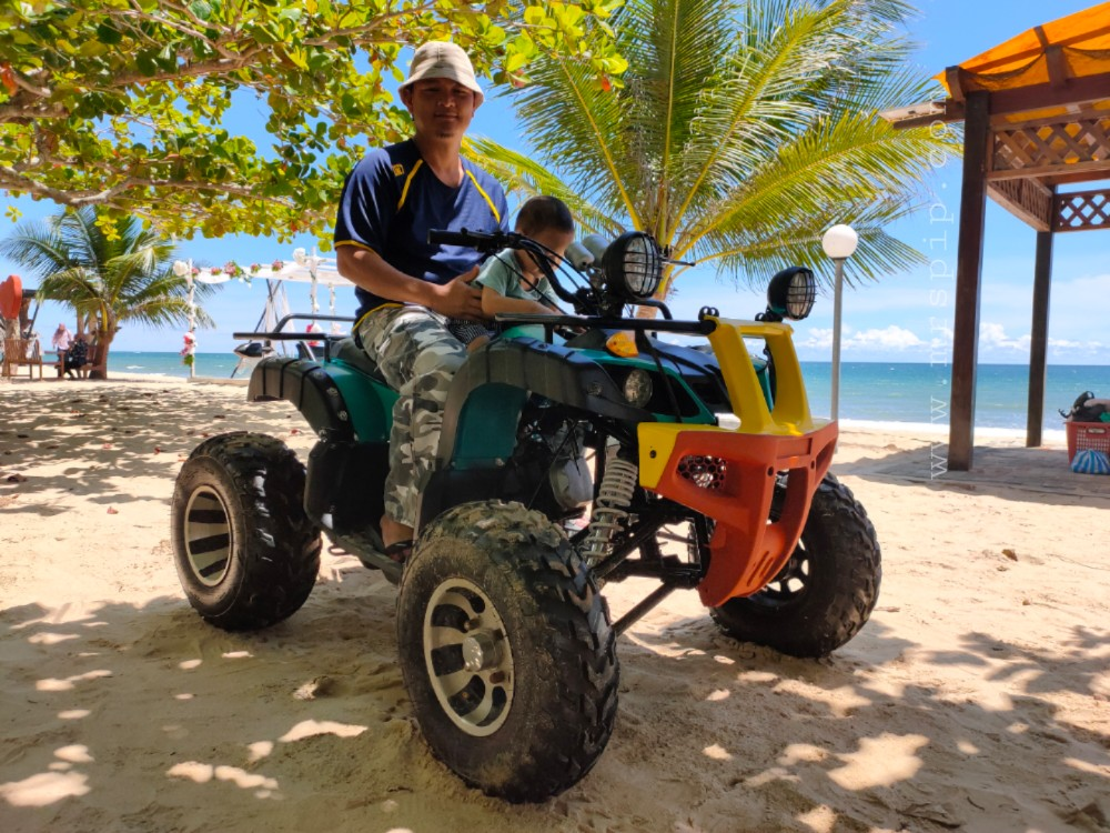 Sewa ATV di Tempurung Seaside Lodge