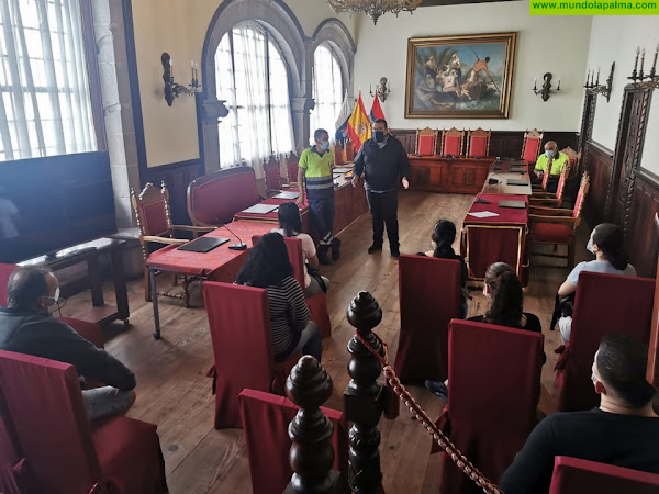 Santa Cruz de La Palma contrata a 17 personas en la segunda fase del Plan de Empleo FDCAN