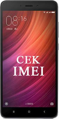 Cara Cek Kode IMEI Xiaomi Redmi Note 4