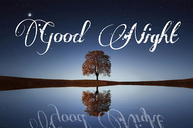 good night nature images