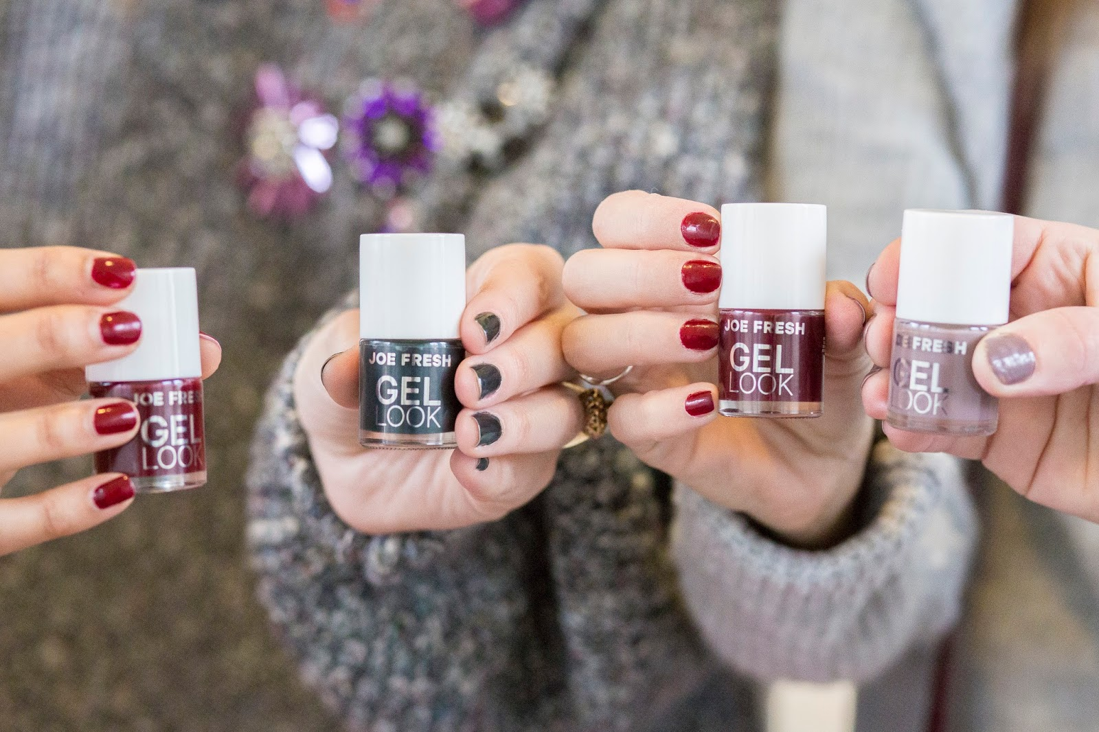 Bijuleni - 3 Things to Pack for a Girls Trip in the Fall - Festive Nail Polish - Manicure