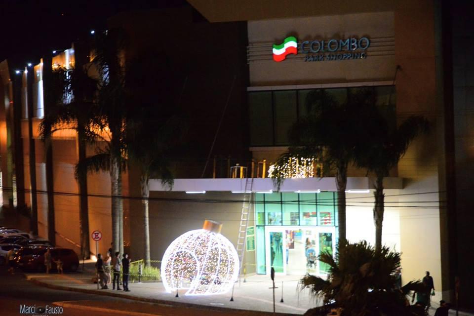 a32e01d54e8 Colombo Park Shopping esta pronto para receber em grande estilo o Papai Noel
