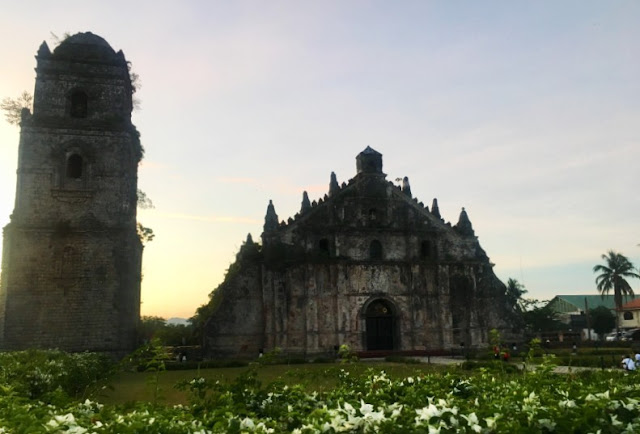 Paoay Church in Ilocos Norte is a UNESCO World Heritage Site and is one of the four Baroque Churches of the Philippines