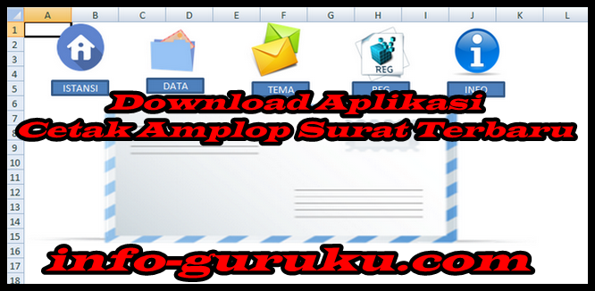 Download Aplikasi Cetak Amplop Surat Terbaru