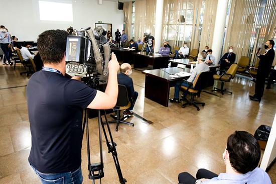 Reunião entre Ulisses Maia e médicos sobre a covid-19. Café com Jornalista