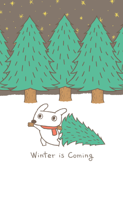 Hey Bu!-Winter is coming